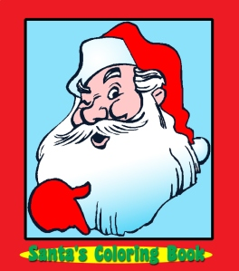 Santa's Coloring Book. eBook