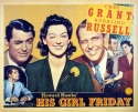 His Girl Friday - Poster